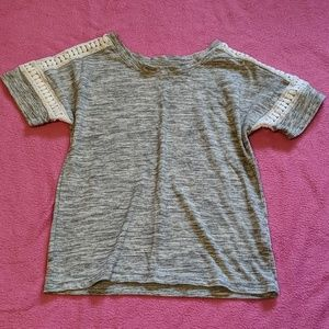 Old Navy Crochet Tee